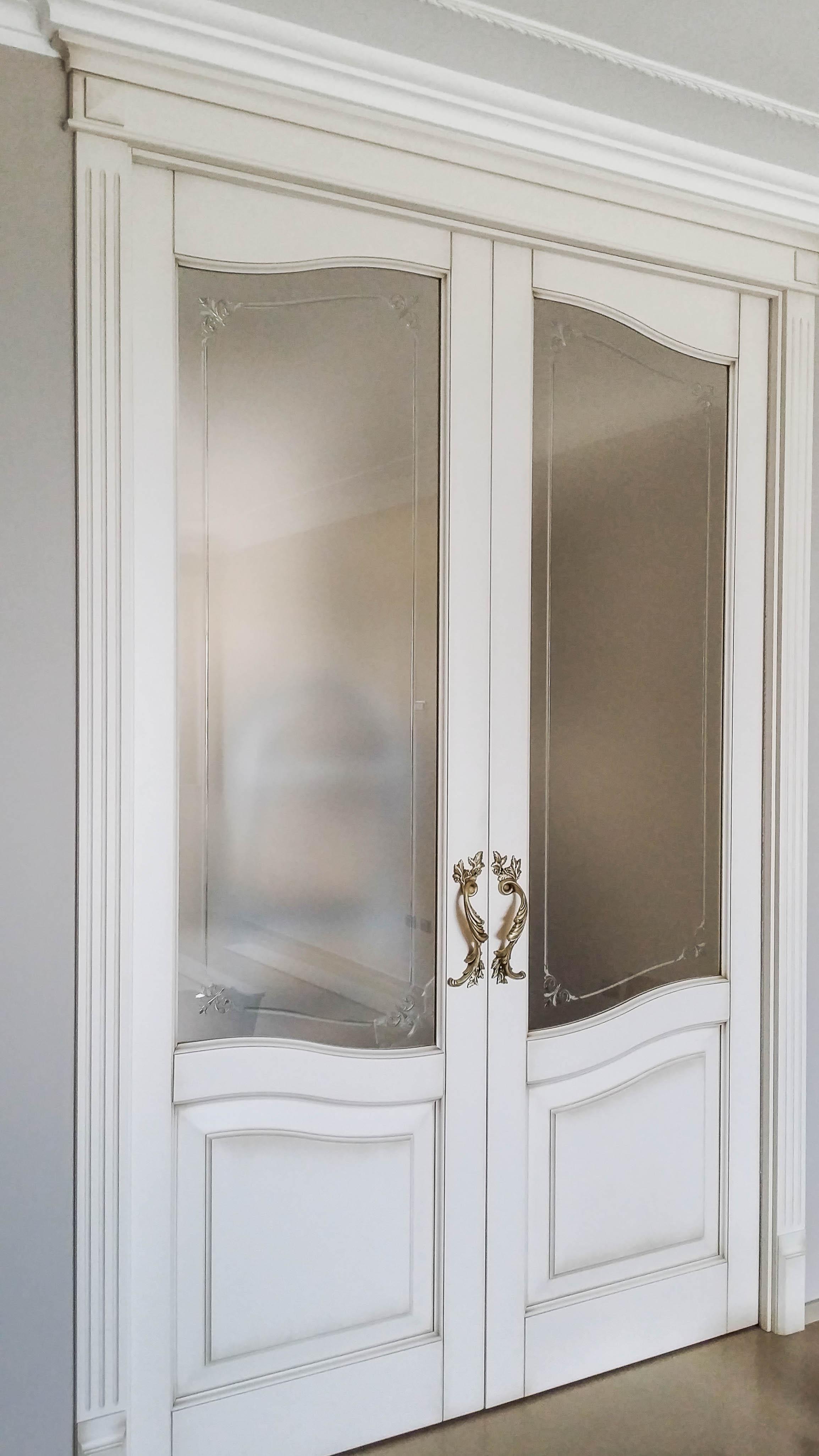 Esempi porte interne classiche modello gemma xilema - Decorazioni porte interne ...