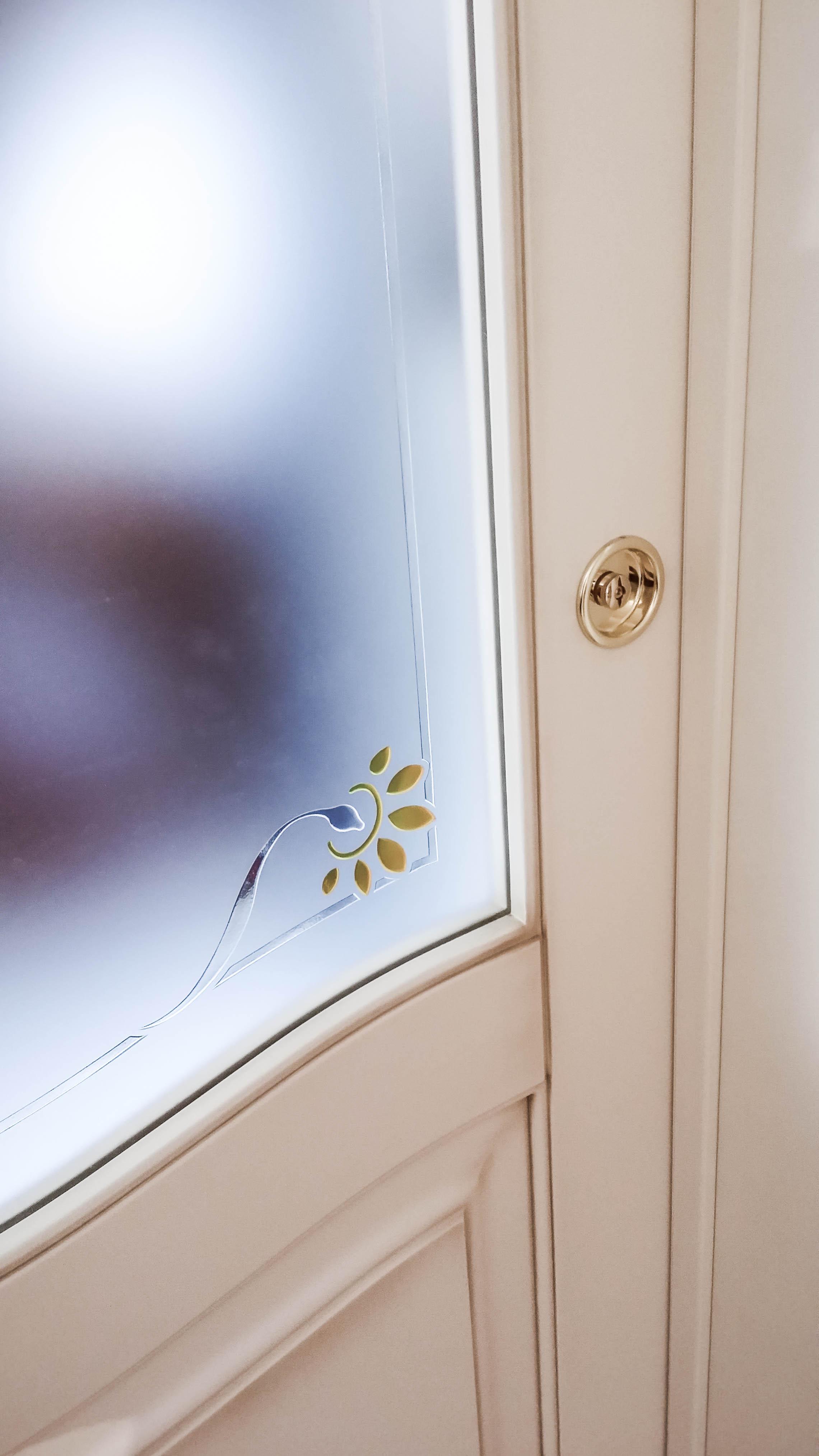 Esempi porte interne classiche modello gemma xilema for Porte interne vetro